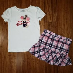 Gymboree Retail Homecoming Kitty Outfit sz 5